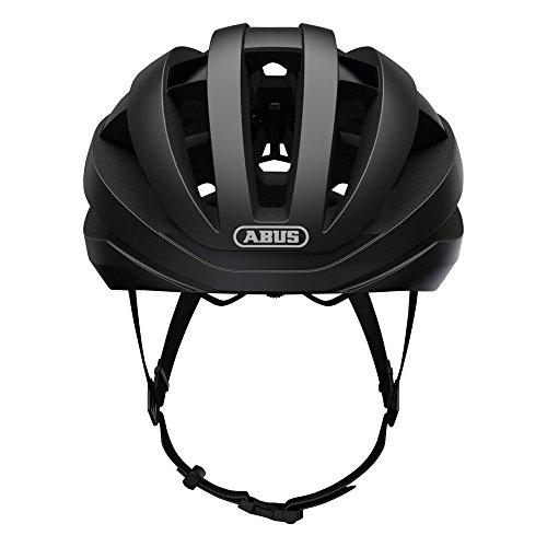 ABUS(アブス)ヘルメットVIANTOR(ヴィアントー)ロードヘルメット軽量エントリーモデルベルベットブラックLサイズ【日本正規品/2年間保証】