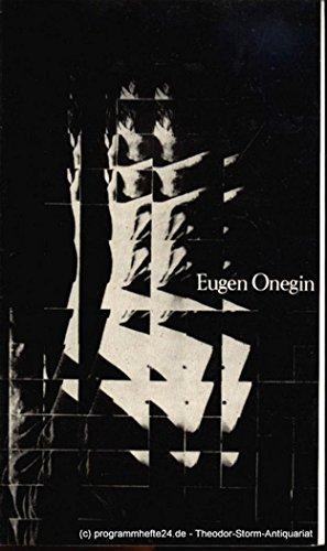 Programmheft Eugen Onegin. Spielzeit 1977 / 78 Premiere am 30. Oktober 1977