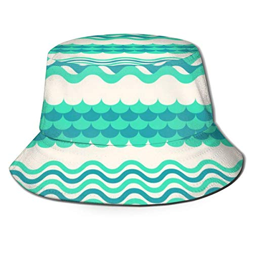 Felsiago Flat Top Breathable Bucket Hats Unisex Zebra Horse Music Piano Bucket Hat Summer Fischerhut