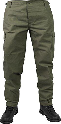 normani Herren Trekking Hose mit verstellbarem Hosenbund Farbe Oliv Größe XXL