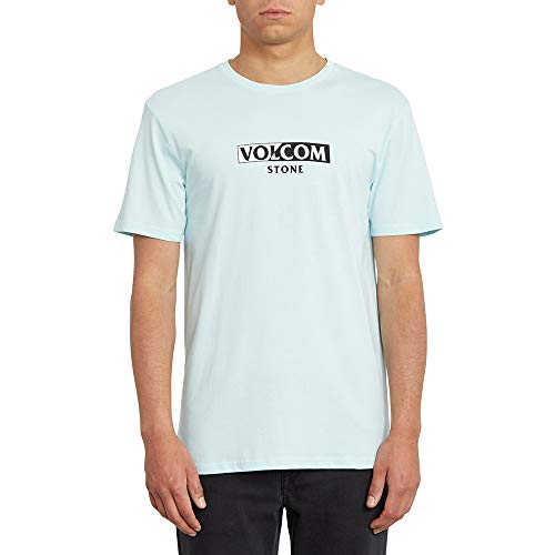 Volcom For Never BSC SS Camiseta, Hombre, Resin Blue, Extra-Small