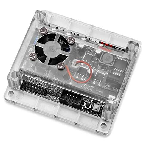 Yoyakie Controlador Junta GRBL 1.1 Junta de Control Junta CNC Controlador de la máquina enrutador para la máquina de Grabado Negro, Piezas eléctricas
