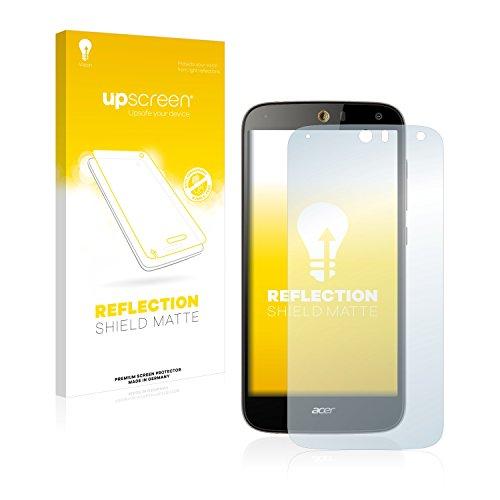 upscreen Entspiegelungs-Schutzfolie kompatibel mit Acer Liquid Z630 – Anti-Reflex Bildschirmschutz-Folie Matt