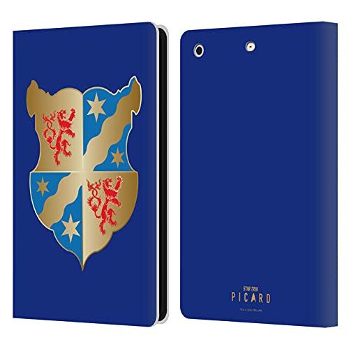 Head Case Designs sous Licence Officielle Star Trek Picard Coat of Arms Insignes Coque en Cuir à Portefeuille Compatible avec Apple iPad Mini 1 / Mini 2 / Mini 3