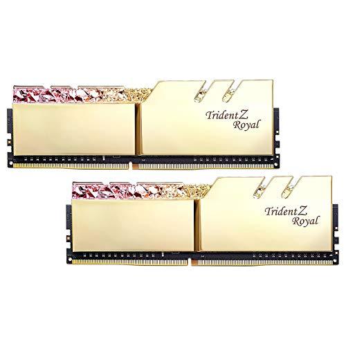 G.Skill Trident Z Royal F4-3200C16D-32GTRG módulo de - Memoria (32 GB, 2 x 16 GB, DDR4, 3200 MHz, 288-pin DIMM)