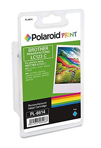 Polaroid sustituye a Brother LC123 Cartucho de Tinta Cian.