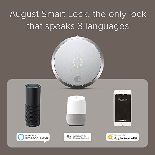 August Connect Wi-Fi Bridge, Remote Access, Alexa Integration for Your August Smart Lock