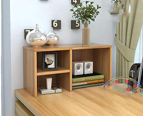 REGAL Bureau Petite étagère, Bureau Simple bibliothèque Support Bureau Table Petite étagère Rack Rangement Rack,B
