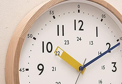 INTERFORMINC.インターフォルム電波時計掛け時計ウォールクロックStorumanストゥールマンインテリア見やすいブルーCL-2937BL知育子ども