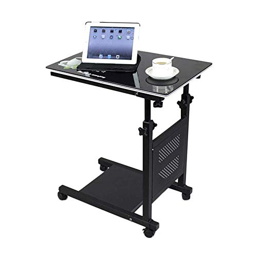 Wangczdz Klaptafel Laptopstandaard Moving Bedside Table Kinderbureau Eettafel Home Care Rack in hoogte verstelbaar