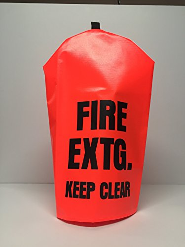 FIRE EXTINGUISHER COVER (PEK 300) - Single - NO WINDOW - Large, fits 10-20lbs extinguishers