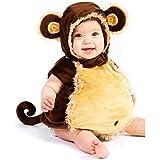 【Abz Company】 猿 乳児 幼児 赤ちゃん ハロウィン コスチューム いたずら 好き 着ぐるみ おくるみ パジャマ サイズ 18 Months / 2T