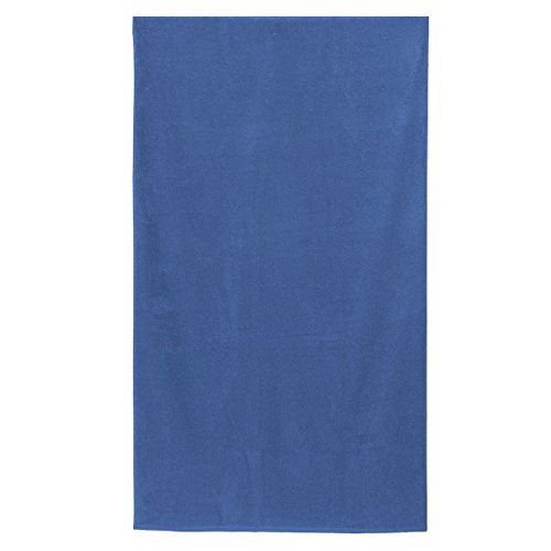Morbidissimi Telo Mare Tinta Unita Spugna 500 gr 100x180 cm S642 Blu Royal