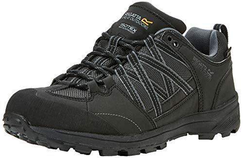 Regatta Samaris Low II, Walking Shoe Mens, (Black/Granite 9v8), 43 EU