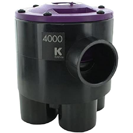 K-RAIN 6403-RCW 6000 Series Indexing Valve with 4 Outlets and 3 Zones