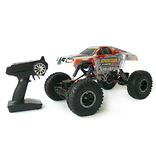 FNCUR Climbing RC Car Off-road Climbing Bike RTR To Play 1:10 Performance Climbing Bigfoot Monster Bigfoot Off-Road Vehicle Boy Girl Gift Wireless Remote Control Toy Car