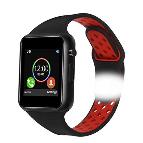 Dr.Haer Bluetooth Smart Uhren für Herren, Fitness-Tracker mit Herzmonitor und Blutdruck, wasserdichte Aktivitäts-Tracker mit Schlafmonitor und SMS-Anrufbenachrichtigung, Schrittzähleruhr für Männer Fr
