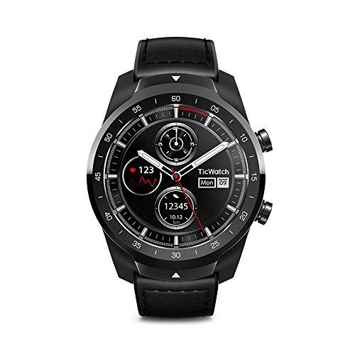 Mobvoi 7502285316218 Ticwatch Pro NFC, color Negro,, pack of/paquete de 1