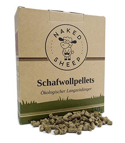 Naked Sheep Schafwollpellets - Organischer Bio-Dünger (750 gr)