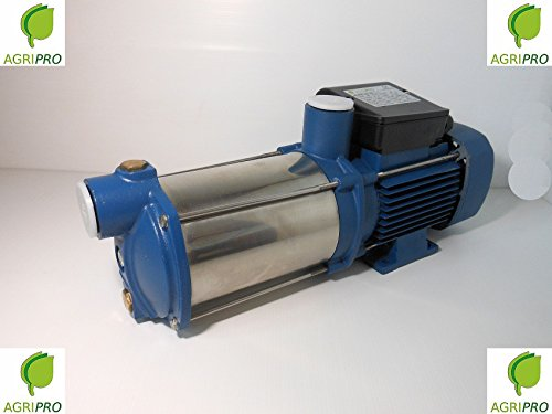 Elettropompa pompa autoadescante MULTIGIRANTE AG 100 SILENT HP 1 MONOFASE inox