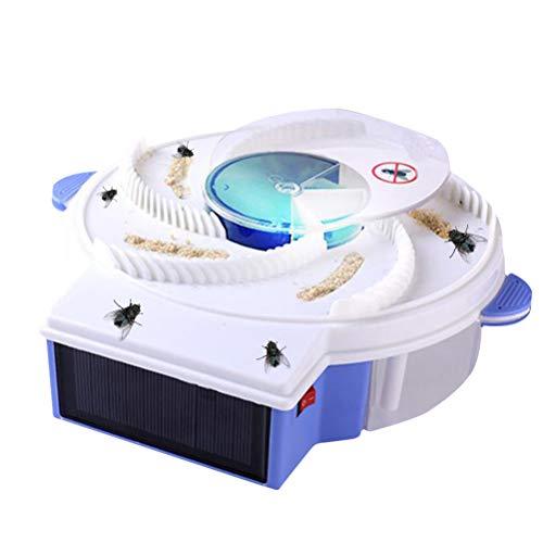 Uyuke Dispositivo de Trampa de Moscas de energía Solar con Atrapador de...