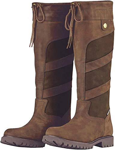 Dublin Ladies Kennet Boots Chocolate 9