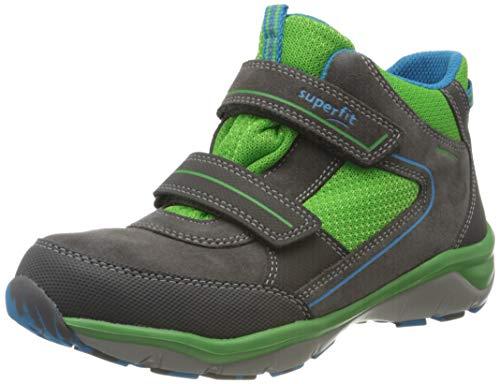 Superfit Jungen Sport5 Gore-Tex Hohe Sneaker, Grau (Grau/Grün 20), 30 EU