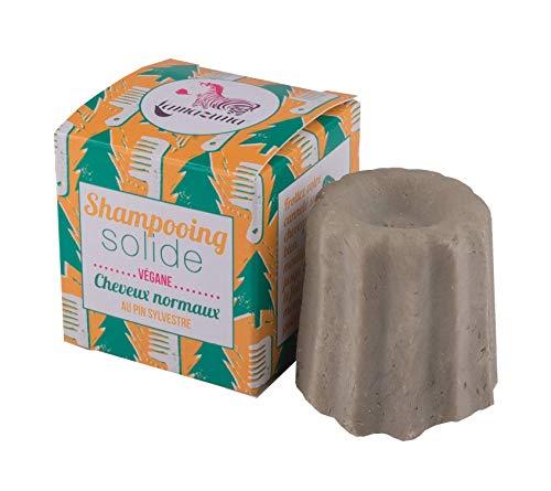 Lamazuna Champú sólido de Pino Silvestre para Cabello normal 55 g