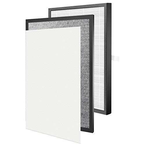 Huante HEPA Filter and Activated Carbon Filter and Air Purifier Cotton Carbon Filter for Yadu KJG 2103/2104/2702/2701/2105