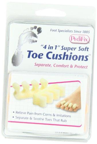PediFix '4 In 1' Super Soft Toe Cushions, 2 Count