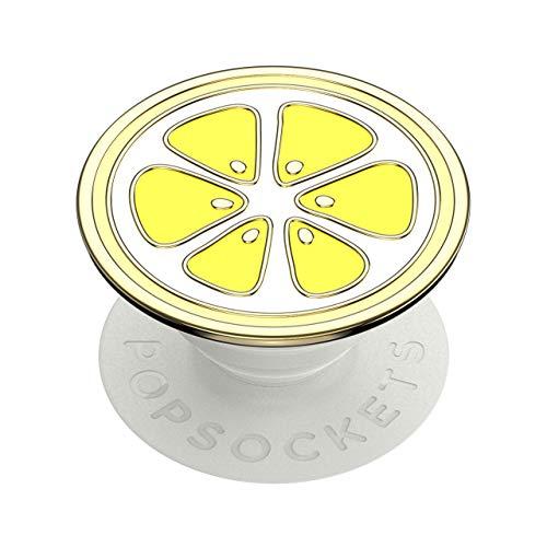 Popsockets GEN2 Enamel Lemon Slice Premium Suporte Para Celular Popsocket Pop socket Original Usa