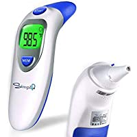 Simplife Digital Infrared Forehead & Ear Thermometer with Ear Function