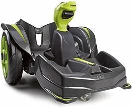 Feber Mad Racer 12V Go - Kart-Ride On Toy-Racing Cars - for Boys & Girls, Yellow