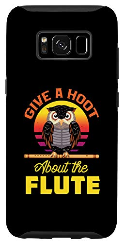Galaxy S8 Vintage Give A Hoot About The Flute Musician Flutes Lovers Case