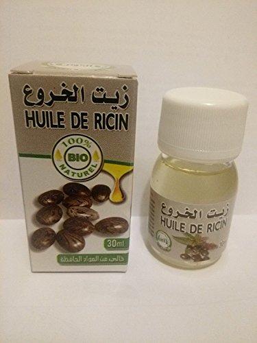 Huile végétale pure de ricin origine maroc- castor oil-30ml