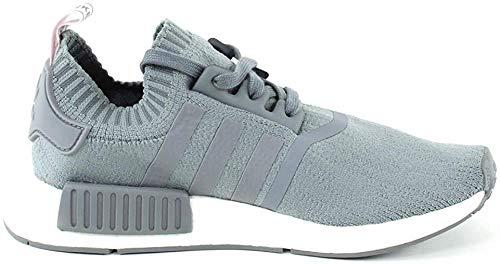adidas Damen NMD_r1 Pk W Gymnastikschuhe, Grau (Grey/Grey/FTWR White), 36 2/3 EU