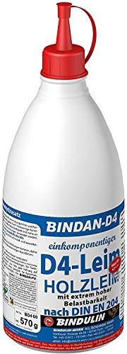 Bindulin Bindan-D4 570g Holzleim Leim eimkomponentig Kunstharzleim