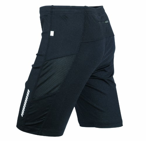 James & Nicholson Herren Sport Legging Running Short Tights schwarz (black) Medium