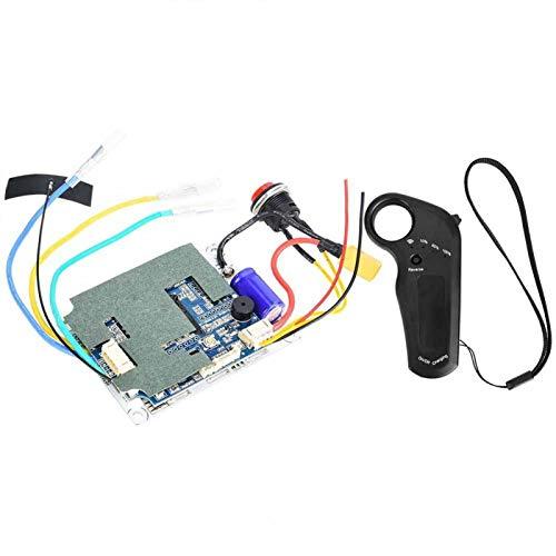 Monopatín eléctrico ESC Motor monopatín parte 8m distancia máxima controlador de accionamiento del motor del monopatín, soporte(T2 single drive version (650))