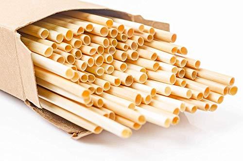 Super Idee 400 Weizenhalme füllung für Wildbienenhotel Insektenhotel Insektenhaus Bastelsachen 20cm Länge wasserdichte Füllmaterial zum selber Bauen Umweltfreundlichen Basteln Nisthilfen