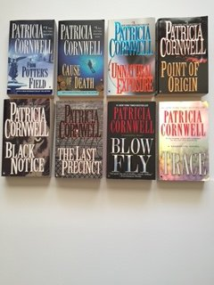 Patricia Cornwell (Scarpetta Set of 8) From Potter's Field; Cause of Death; ... Blow Fly; Trace