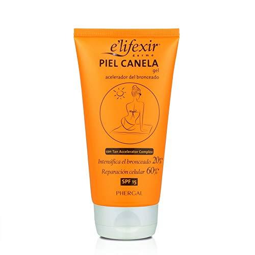 Elifexir Crema Piel Canela Hidratante y Aceleradora del Bronceado SPF15 150ml