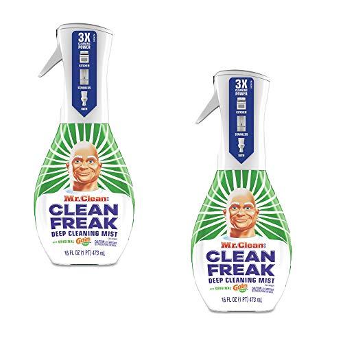 Mr. Clean, Clean Freak Deep Cleaning Mist Multi-Surface Spray, Gain Original Scent Starter Kit, 1Count, 16 Fluid oz (2)
