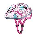 オージーケーカブト(OGK KABUTO) 自転車 ヘルメット 子ども用 J-CULES2 フラワーピンク 児童用 (頭囲 54cm~56cm未満)