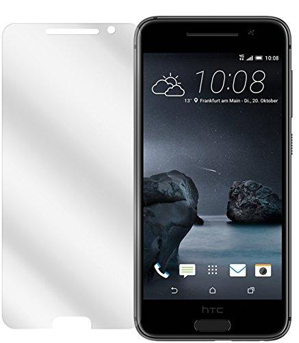 dipos I 2X Schutzfolie klar kompatibel mit HTC One A9 Folie Bildschirmschutzfolie
