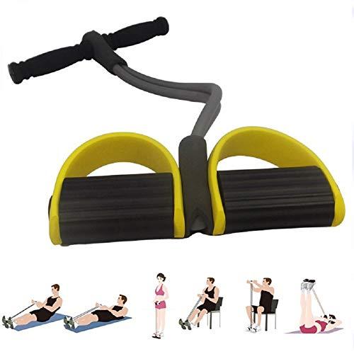 FILWO Fitness-Sit-up-Trainingsgerät Fitness-Zugseil Fitnessband Elastisches Zugseil Multifunktions-Zugseilzieher Bauchbein Oberschenkel Arme Muskeln Bauch