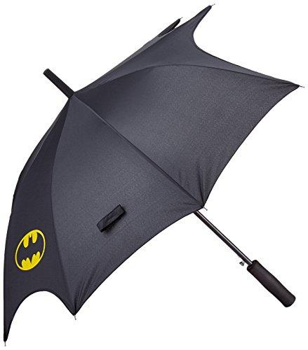 Batman Fledermaus, Spannweite – 0122124 Regenschirm Circa 104 cm, Schwarz