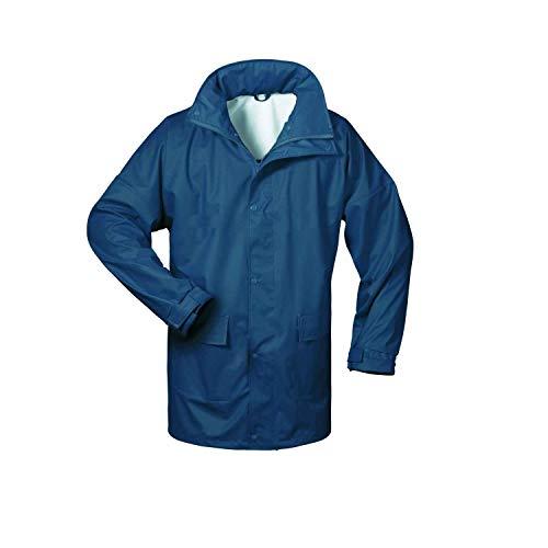 NORWAY PU Regen-Jacke mit Kapuze - marine - Größe: XXL
