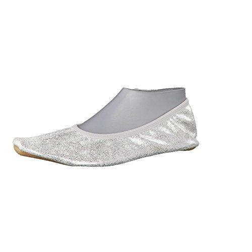 Beck Damen Basic Gymnastikschuhe, Silber (Silber 15), 38 EU