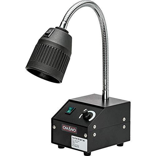 Omano Halogen Gooseneck Desk Lamp Microscopy and Multi-Purpose - OMHL31